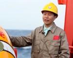 """中国自主水下机器人""""潜龙三号""""进行首次海试"""