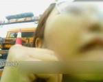 女司机高速路追尾大货车 对着交警哭泣:我要抱抱你