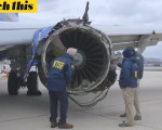 美西南航空客机引擎爆炸初查:叶片断裂 金属疲劳