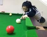 衡水中学17岁女生夺台球世界冠军:我想上北大